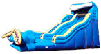 Wipeout Double-Drop Water Slide
